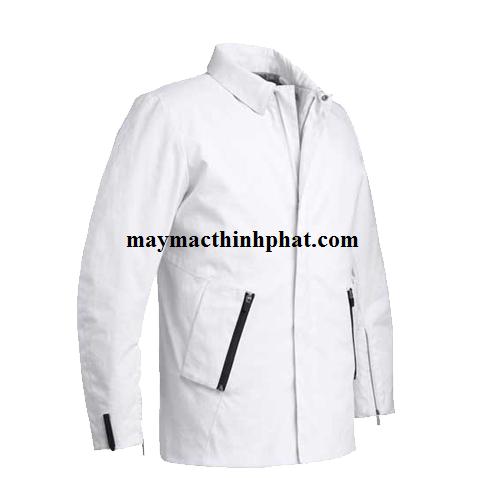 May áo khoác từ thiện làm quà tặng